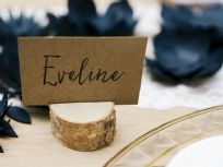 Wooden Place Card Holders (10)